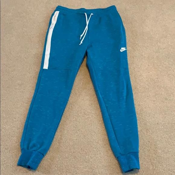 baby blue nike sweatpants